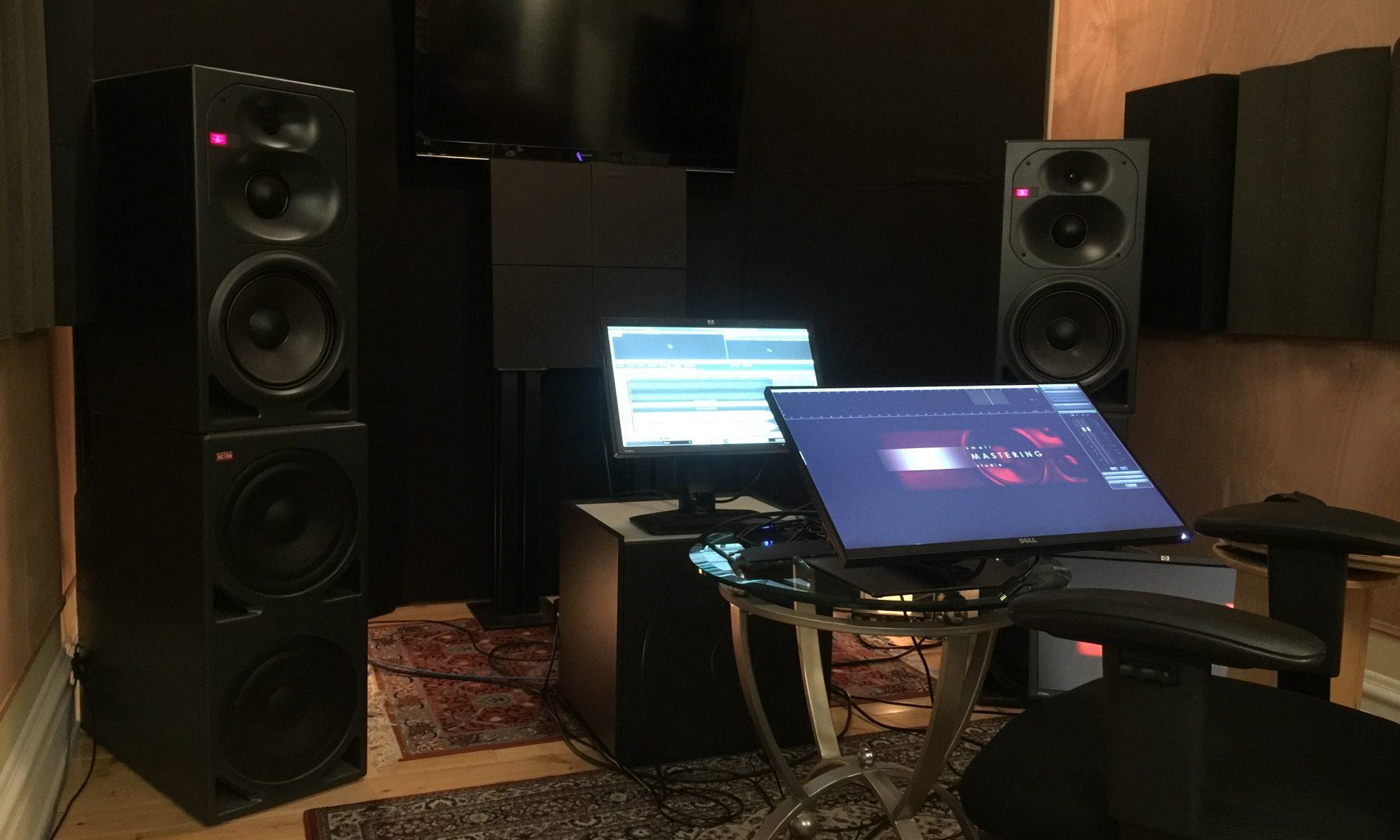 Small Mastering Studio